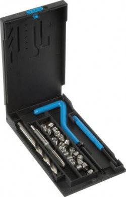 V-Coil Repair Kit TV 20 - product photo - 2 drill bits, 20 inserts, 2 hand tool